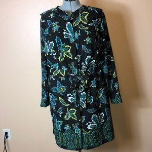 Liz Claiborne plus size 2X black flower dress